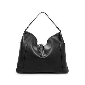 Steve Madden Black Pebbled Hobo Bag